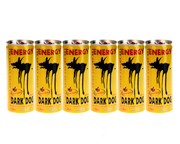 DARK DOG ENERGY DRINK BEBIDA ENERGIZANTE 250ML 24 UNID PACK